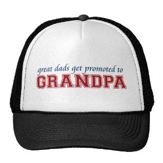 Promovido al abuelo gorro