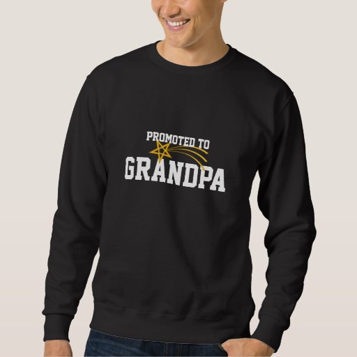 Promovido al abuelo sudadera