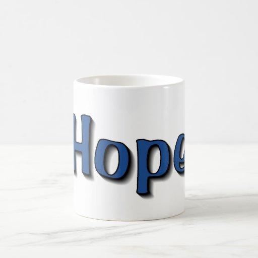 Promueva la esperanza tazas de café