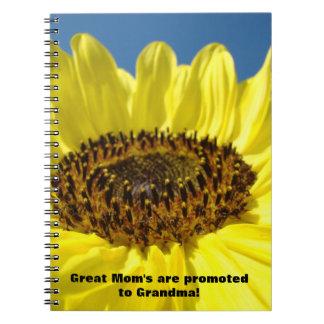 ¡Promueven a la gran mamá a la abuela cuadernos