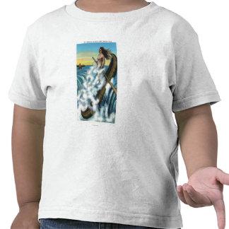 Promulgación de la leyenda de la canoa blanca camisetas