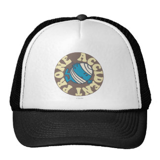 Prone Accident Trucker Hat