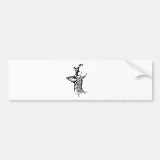 Pronghorn Bumper Sticker