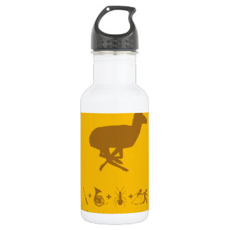 pronghorn yellow and brown.png water bottle