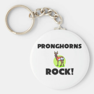 Pronghorns Rock Keychain