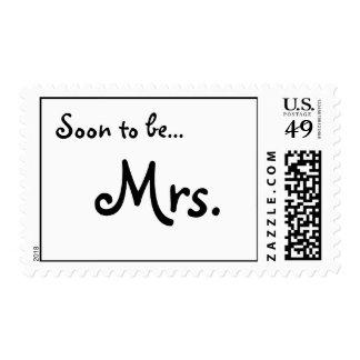 Pronto para estar… Señora Postage