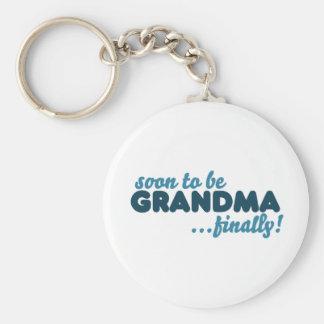 Pronto para ser abuela finalmente llaveros