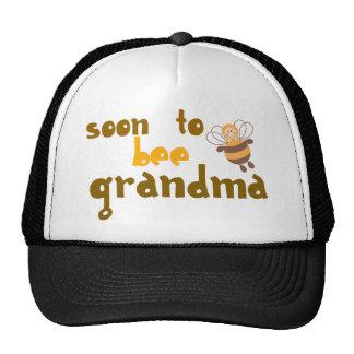 Pronto para ser abuela gorras