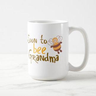 Pronto para ser abuela taza
