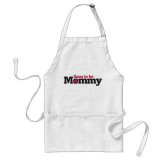 Pronto para ser mamá delantales