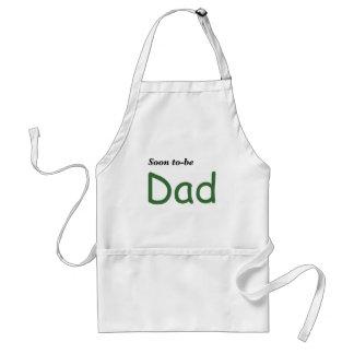 Pronto para ser papá delantal