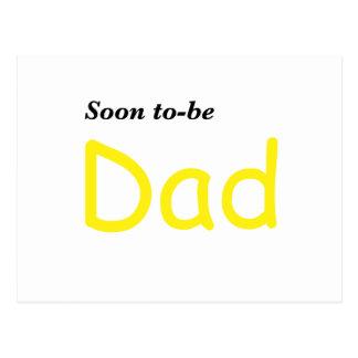 Pronto para ser papá postal