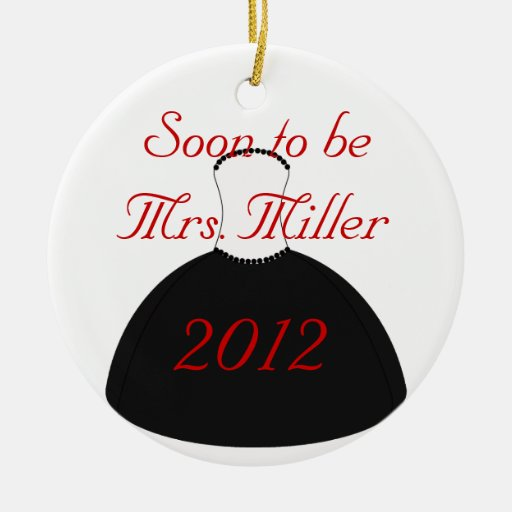 Pronto para ser señora Christmas Ornament Ornamento De Navidad
