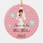 Pronto para ser señora Christmas Ornament Ornato