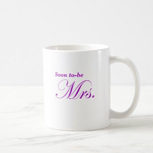 Pronto para ser señora taza básica blanca
