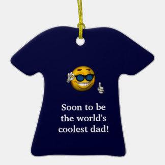 Pronto ser el papá más fresco del mundo a adornos