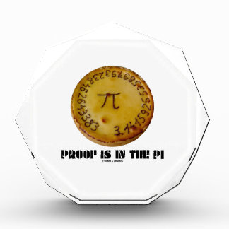 Proof Is In The Pi (Pi On Baked Pie) Award