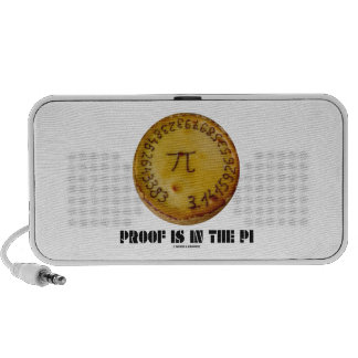 Proof Is In The Pi (Pi On Baked Pie) Speaker