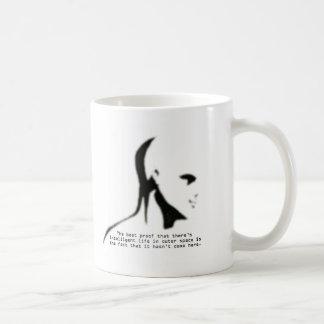 Proof Of Alien Life Quote Coffee Mug