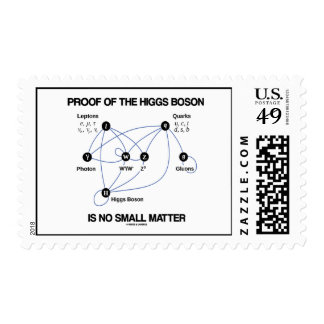 Proof Of The Higgs Boson Is No Small Matter Stamp