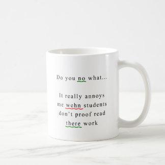 Proof Read Classic White Coffee Mug