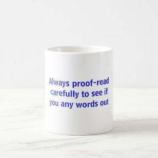 Proof-read Mug