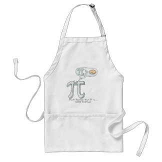 Proof that Pi is Irrational Adult Apron
