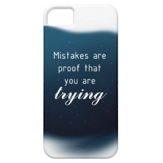 Proof That You Are Trying iPhone SE/5/5s Case