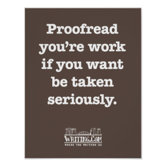 Proofread You re Work Print
