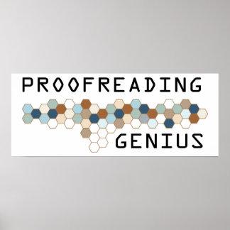 Proofreading Genius Posters