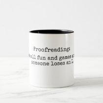 Proofreading Mug