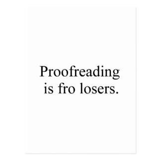 proofreading postcard