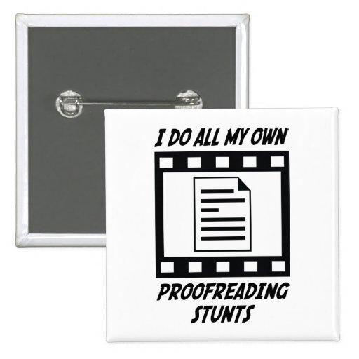 Proofreading Stunts Button