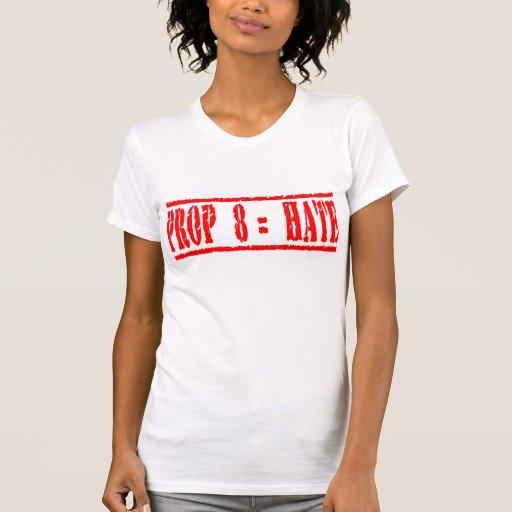 Prop 8 equals Hate Shirt