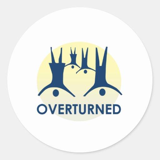 Prop 8 Overturned Sticker