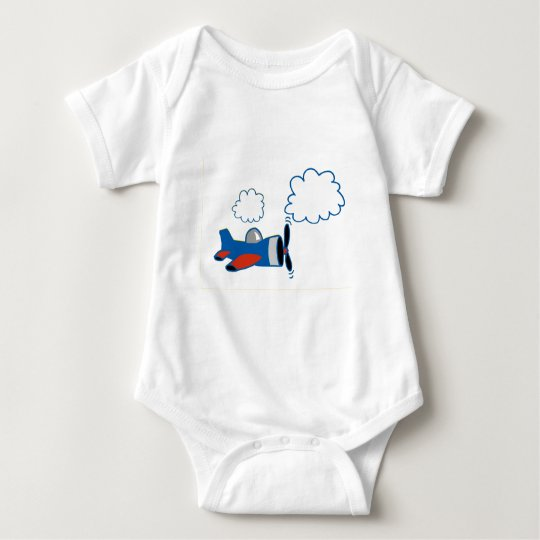 Prop Plane Baby Bodysuit