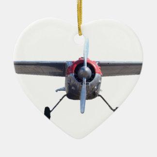 Prop Plane Ceramic Ornament