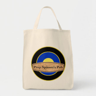 Prop Spinners Pub Grocery Tote Canvas Bags