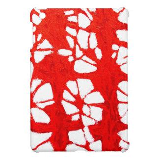 Propagación roja (tachism, expresionismo abstracto iPad mini protectores