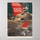 Propaganda 1932 de URSS Unión Soviética Posters