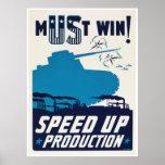 Propaganda americana durante la Segunda Guerra Mun Poster