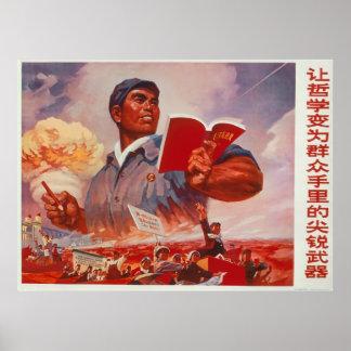 Propaganda china póster
