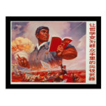 Propaganda china tarjetas postales