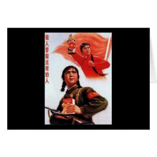 Propaganda de China Tarjetas