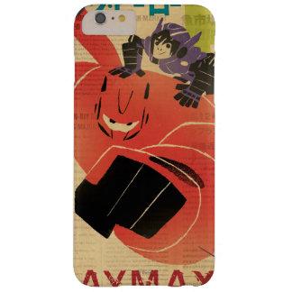 Propaganda de Hiro y de Baymax Funda De iPhone 6 Plus Barely There