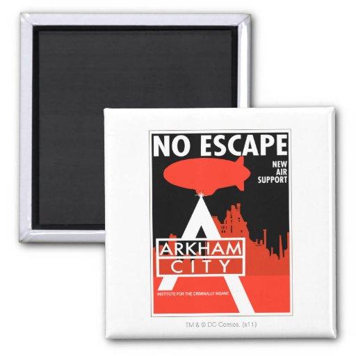 Propaganda de la CA - ningún escape - nuevo apoyo  Imán Cuadrado