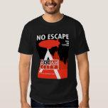 Propaganda de la CA - ningún escape - nuevo apoyo Playera