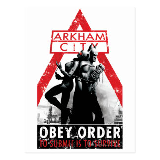 Propaganda de la CA - Obey/To Submit es sobrevivir Postales