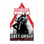 Propaganda de la CA - Obey/To Submit es sobrevivir Postal
