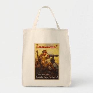 Propaganda de la munición WWI de los enlaces de Bolsa Tela Para La Compra